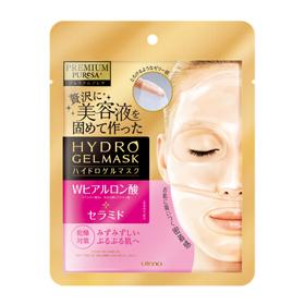 Utena 佑天蘭 保養面膜-2片式奢華水凝膠面膜(玻尿酸+神經醯胺) Premium Puresa Hydro Gel Mask HA