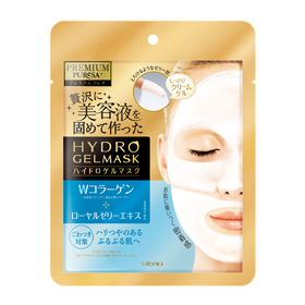 Utena 佑天蘭 保養面膜-2片式奢華水凝膠面膜(膠原蛋白+蜂王漿) Premium Puresa Hydro Gel Mask CO