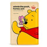 蜂蜜水潤高導面膜-小熊維尼款