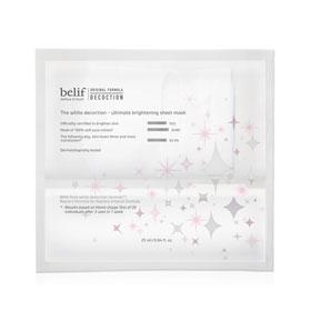 belif 臉部保養-面膜系列-石楠花水光亮采修護面膜