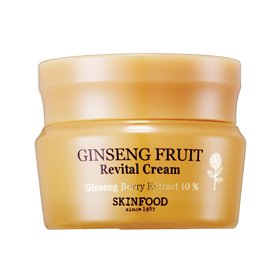 SKINFOOD 乳霜-美好人蔘奇蹟霜 Ginseng Fruit Revital Cream(anti-wrinkle functional)