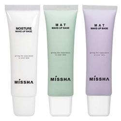 MISSHA  妝前‧打底(臉‧眼)-粉霧飾底乳 Moisture Makeup Base
