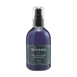 MISSHA  化妝水-清透舒緩 保濕平衡水 NON COMEDOGENIC SKIN