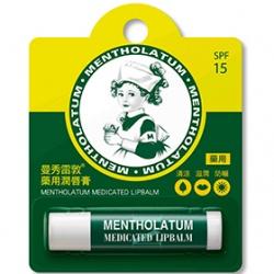 MENTHOLATUM 曼秀雷敦 潤唇系列-藥用潤唇膏SPF15
