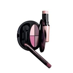 SHISEIDO 資生堂-專櫃 眼影-活顏悅色 絲采四色眼影