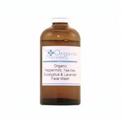 The Organic Pharmacy 歐佳妮 臉部保養-清潔-草本清淨洗顏露 Peppermint Tea Tree & Lavender Face Wash
