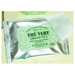 L'OCCITANE 歐舒丹 綠茶-綠茶柔舒紙巾 Green Tea Refreshing Towelettes
