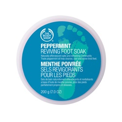 The Body Shop 美體小舖 腿‧足保養-薄荷沁涼足部浸泡素 Peppermint Cooling Foot Soak