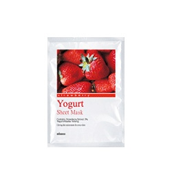 MISSHA  面膜/按摩霜-片裝優格面膜系列-草莓 Missha Yoghurt Sheet Mask (Strawberry)