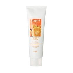 MISSHA  清潔面膜-剝除式優格面膜系列-香橙 Missha Yoghurt Mandarin Orange pack (peel-Off Type)