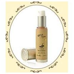 SKINFOOD 粉霜(含氣墊粉餅)-檸檬粉底霜