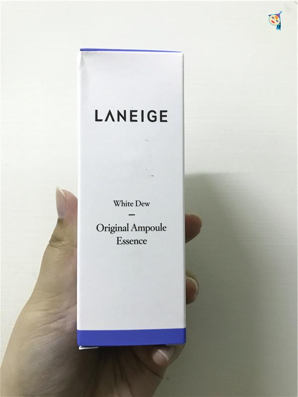 LANEIGE 蘭芝 晶透潤白淡斑安瓶精華 一敷上臉,那溫和滋潤的觸感令人傾心~ 保養品分享 健康養身 攝影 民生資訊分享